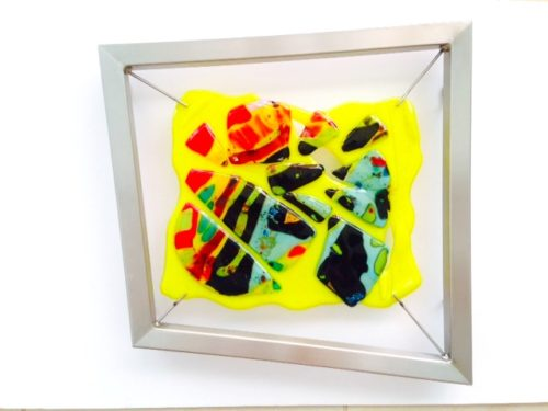 "A New Day Dawning 16.75""w x 16.75""h x 2""d- by Jill Casty Art"