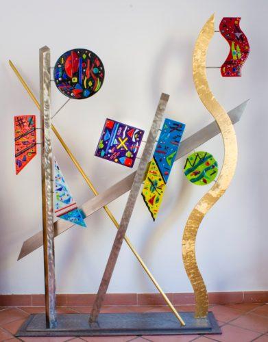 Keeping a Delicate Balance Equilibrio Delicato - Jill Cast Art