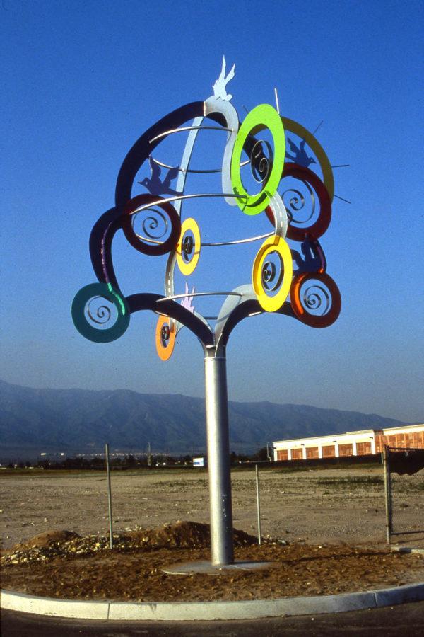 Nature's Cycle City of Rancho Cucamonga, CA - by Jill Casty Art