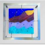 """Sierra Mar Revisited 15""""w x 15""""h x 2"""" d - by Jill Casty Art"""