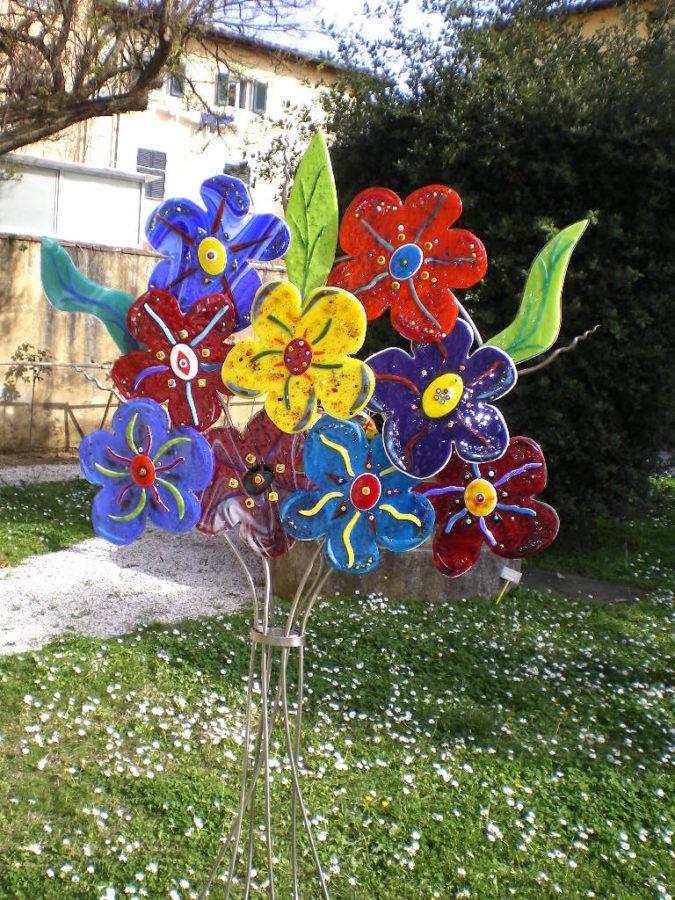 Spring, Finally! 40.5 w x 64 h x 11 d - Jill Casty Art