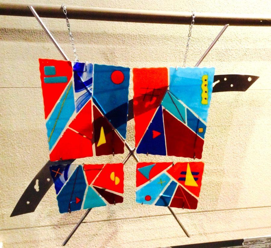 """The Sound of Color 31""""w x 29""""h x 3.5""""d - Jill Casty Art"""